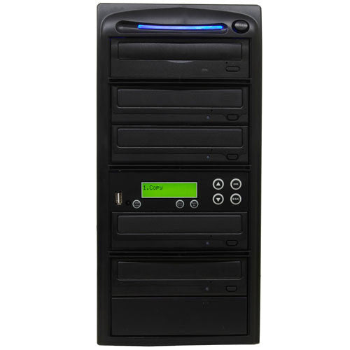 SySTOR 1:4 USB Flash Drive Memory Card to Blu-ray Data Backup Duplicator - (PUSBR04) - Duplicator Depot