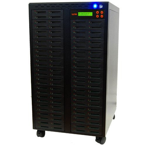 SySTOR 1:99 Multiple Compact Flash CF Memory Card Duplicator / Sanitizer - (SYS-CFD-99) - Duplicator Depot