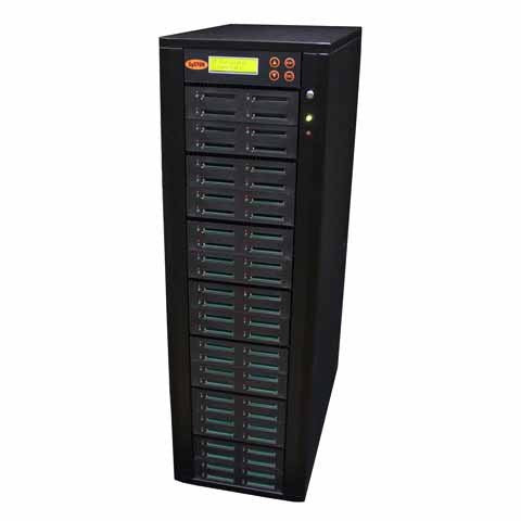 SySTOR 1:55  Multiple Compact Flash CF Memory Card Duplicator / Sanitizer - (SYS-CFD-55) - Duplicator Depot