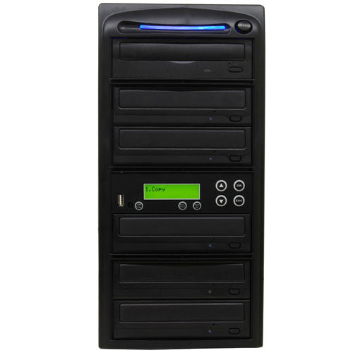 SySTOR 1:5 USB Flash Drive Memory Card to Blu-ray Data Backup Duplicator - (PUSBR05) - Duplicator Depot