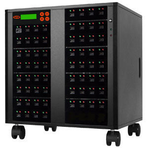 SySTOR 1:63 Multiple eUSB (Embedded USB) Memory Card Duplicator / Drive Copier - (SYS-eUSB-63) - Duplicator Depot