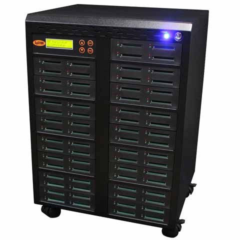 SySTOR 1:67  Multiple Compact Flash CF Memory Card Duplicator / Sanitizer - (SYS-CFD-67) - Duplicator Depot