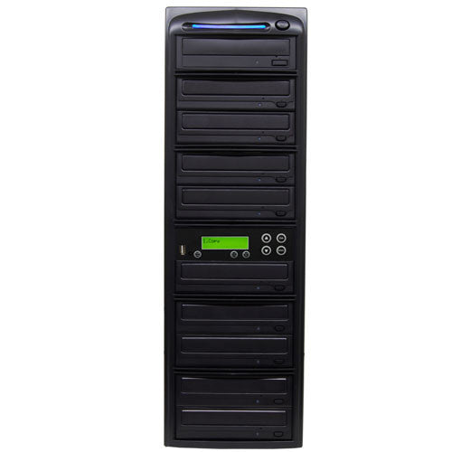 SySTOR 1:9 USB Flash Drive Memory Card to Blu-ray Data Backup Duplicator - (PUSBR09) - Duplicator Depot