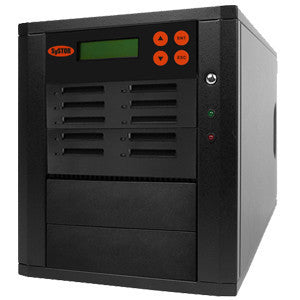 SySTOR 1:9 Multiple CFast (Compact Fast) Memory Card Duplicator / Drive Copier 150MB/sec- (SYS-CFast-9) - Duplicator Depot