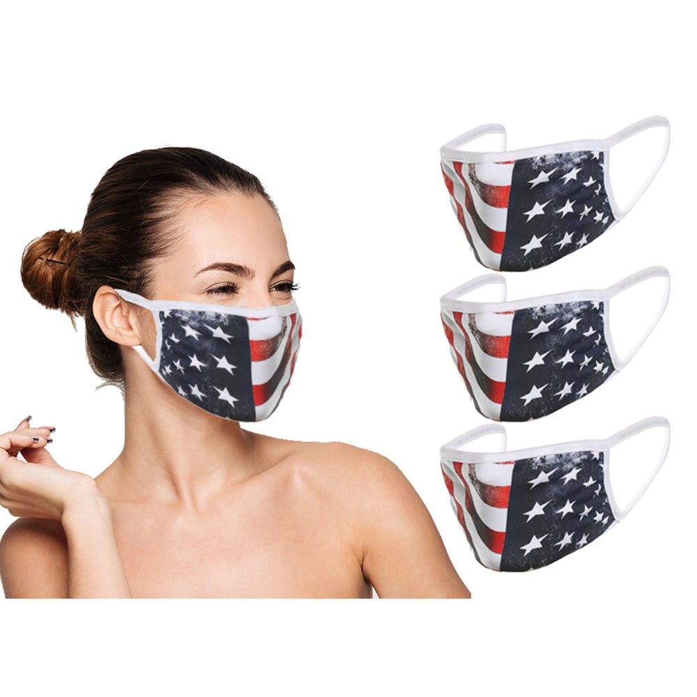 Face Mask - USA Flag