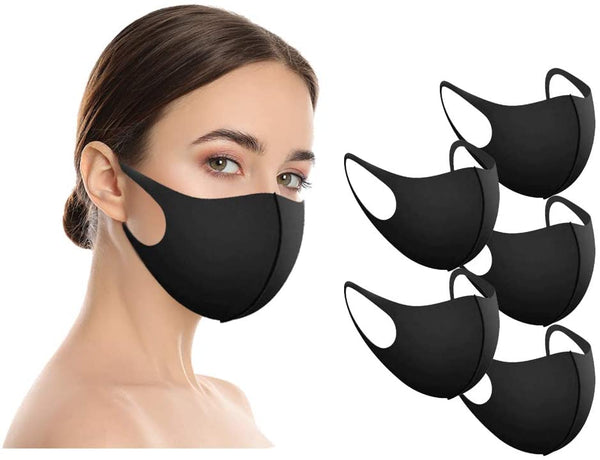 Amba7 5 PCS Washable Reusable Cool Face Mask for Summer in Stock USA Seller