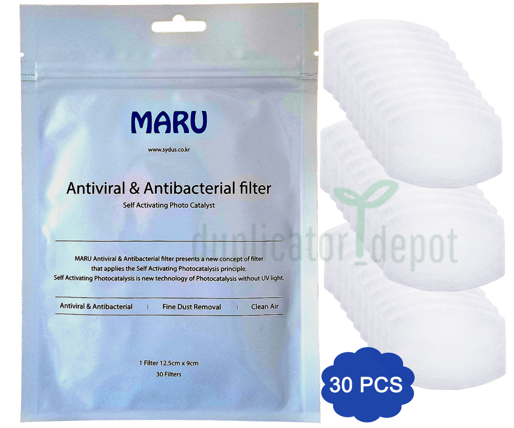 Self-Activating Photocatalystic Face Mask Protective Filter, 30 Sheets, In Stock - Duplicator Depot