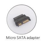 Micro SATA to SATA Hard Drive Adapter (P1040) - Duplicator Depot
