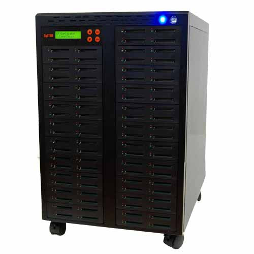 SySTOR 1:83  Multiple Compact Flash CF Memory Card Duplicator / Sanitizer - (SYS-CFD-83)