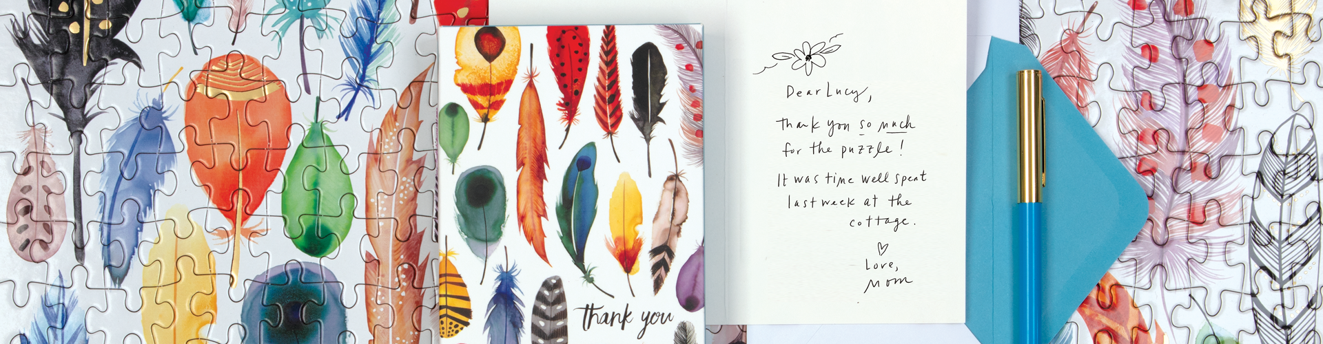 The Arrows and Feathers Collection from Galison