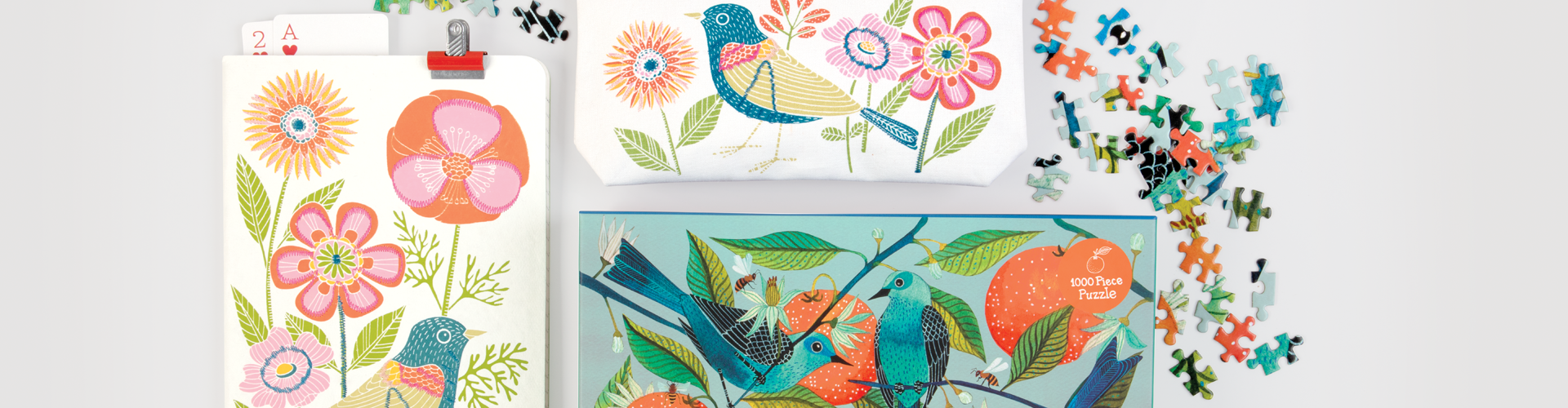 The Avian Friends collection from Galison