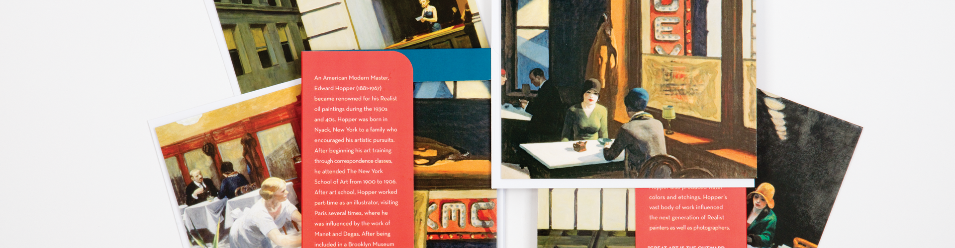 Edward Hopper Collection from Galison