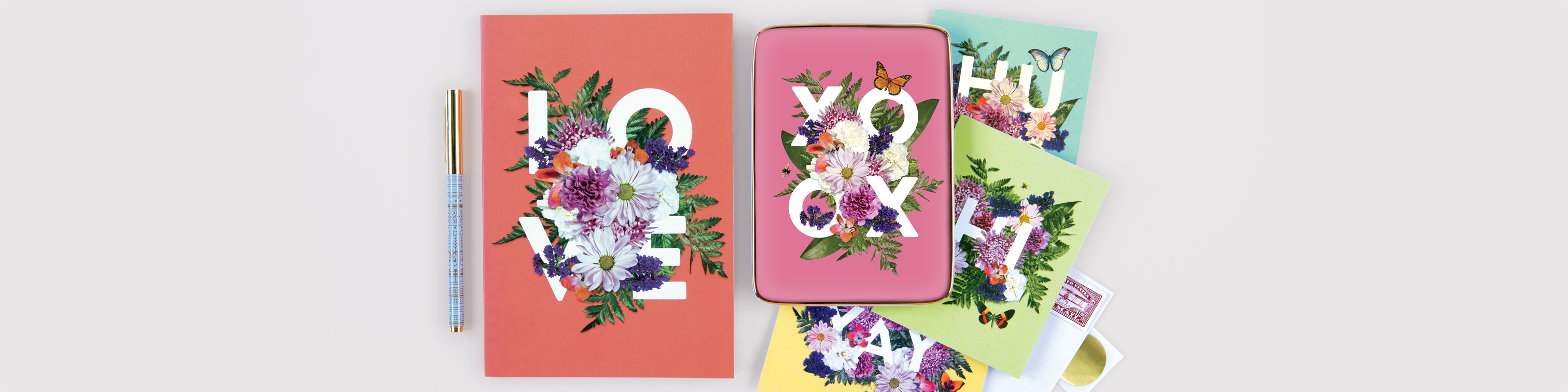 Say it with Flowers Collection Galison