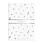 Gray Malin The Skiers A5 Notebook