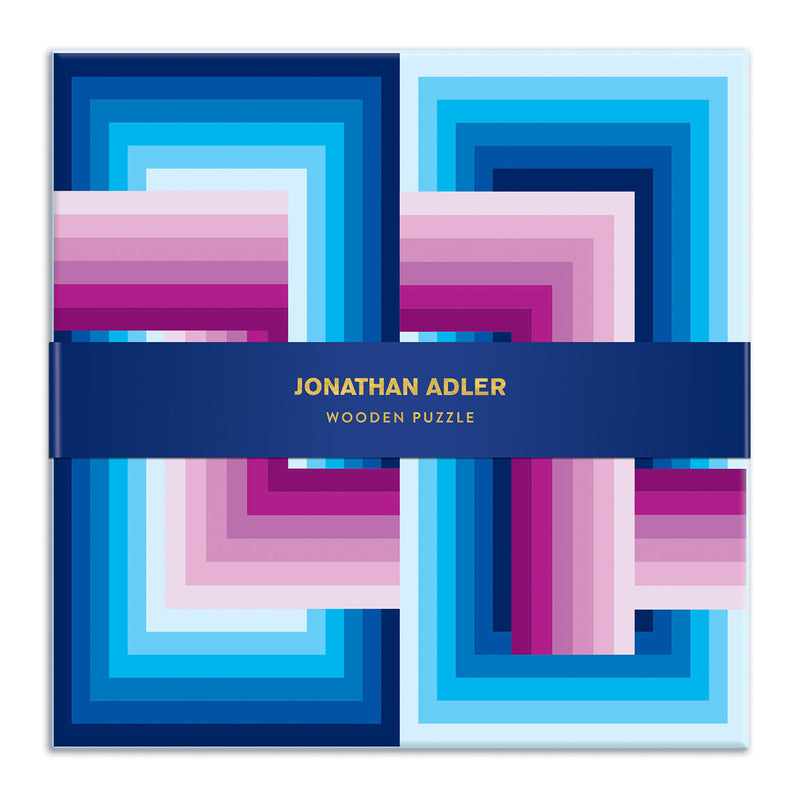 Jonathan Adler Infinity Wooden Jigsaw Puzzle Set