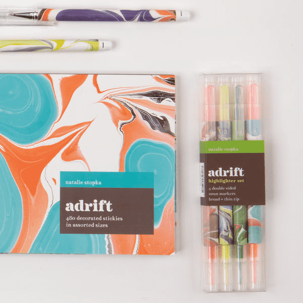 Adrift Everyday Pen Set Sale Galison