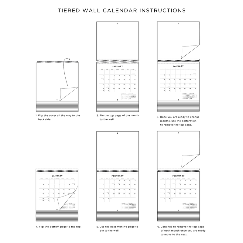 Andy Warhol 2021 Tiered Wall Calendar Calendars Andy Warhol Collection