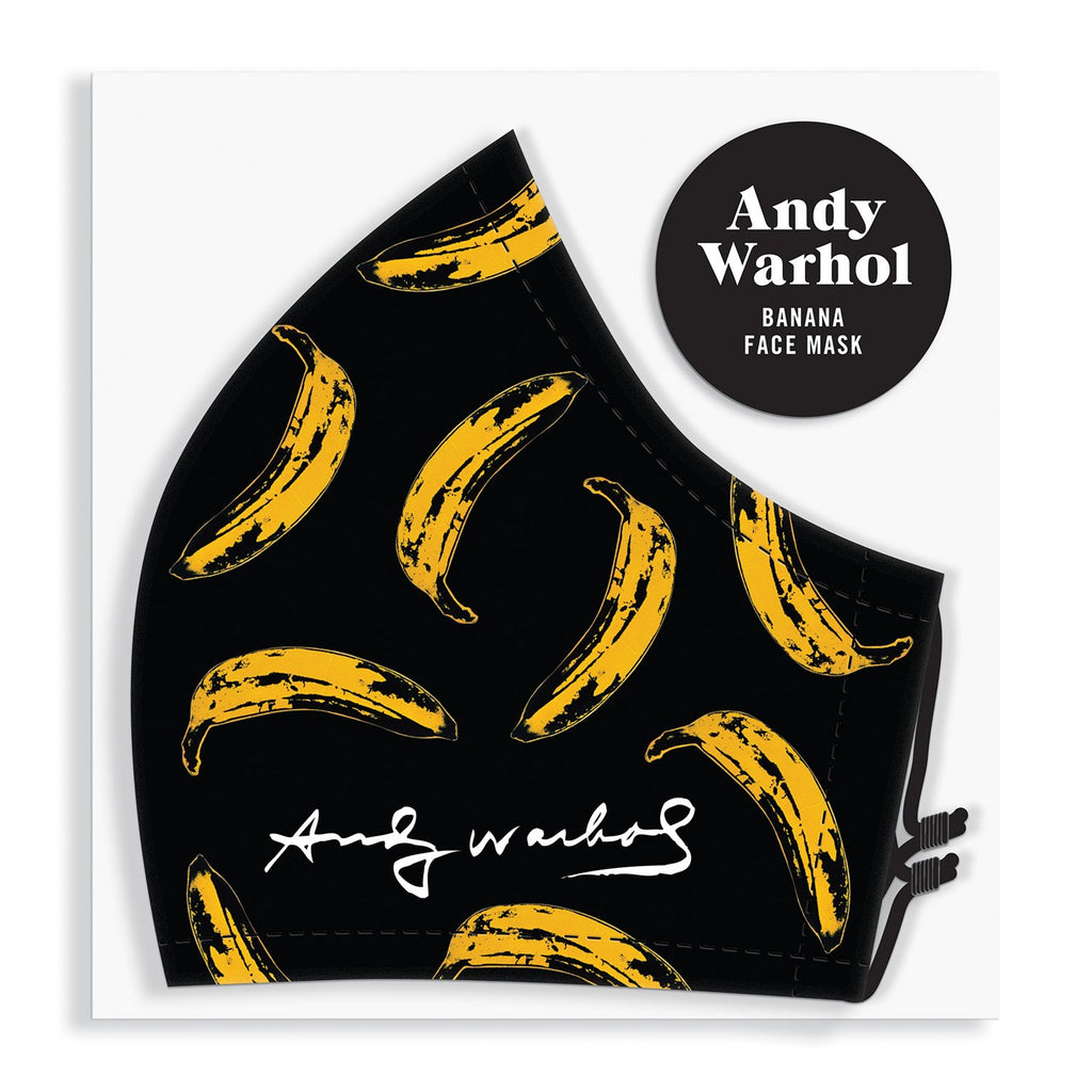 Andy Warhol Banana Face Mask Face Masks Andy Warhol Collection