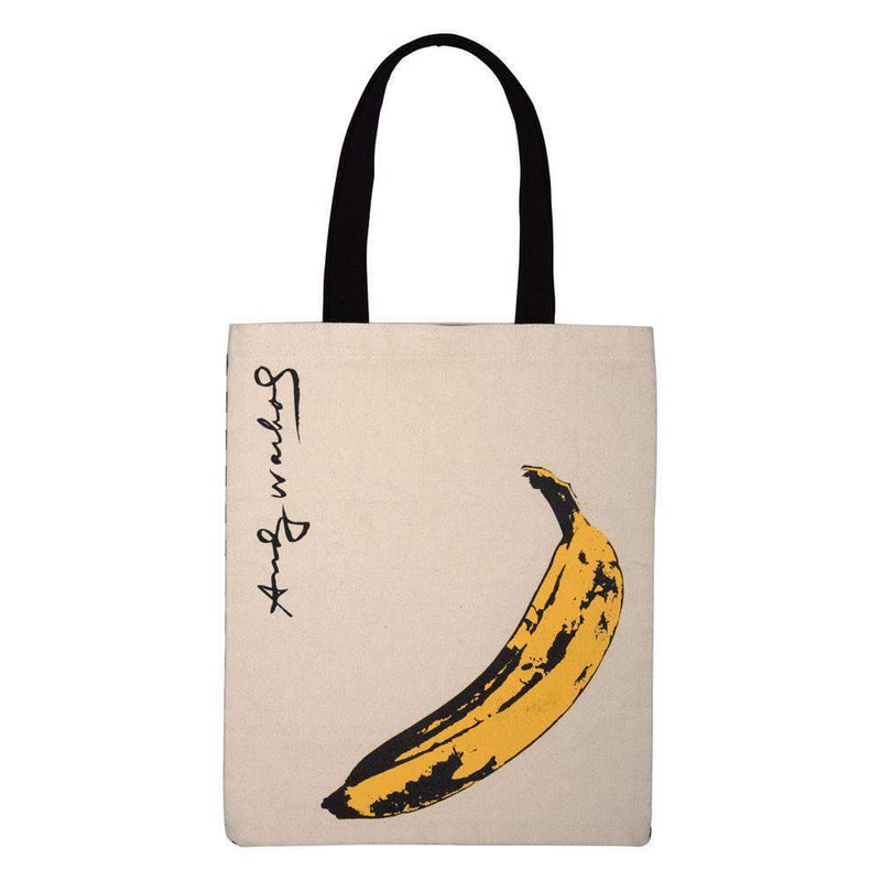 Andy Warhol Banana Tote Bag Tote Bags Galison