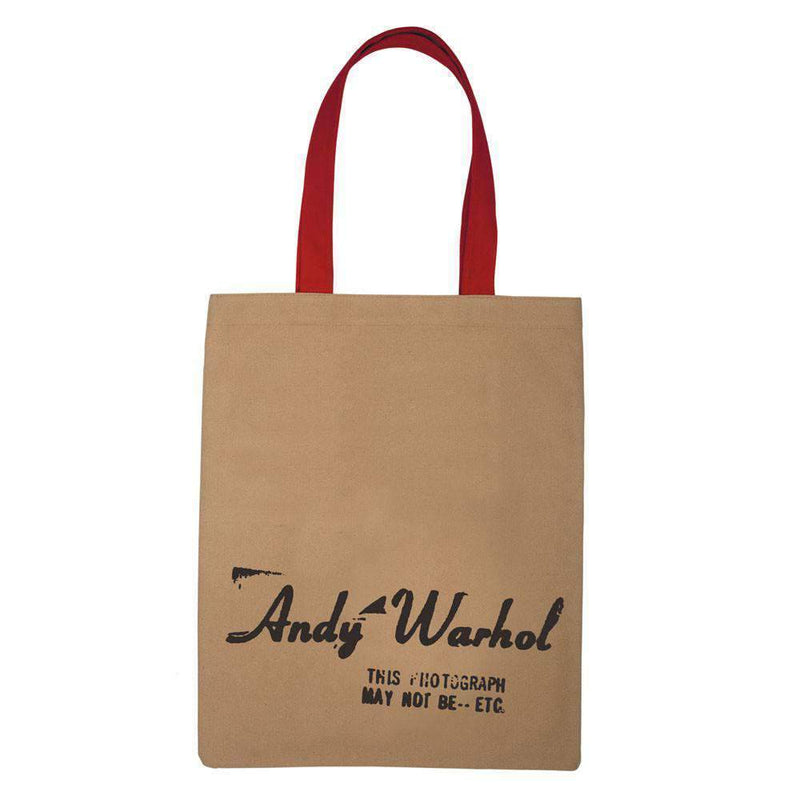 Andy Warhol Campbell's Soup Tote Bag Tote Bags Galison