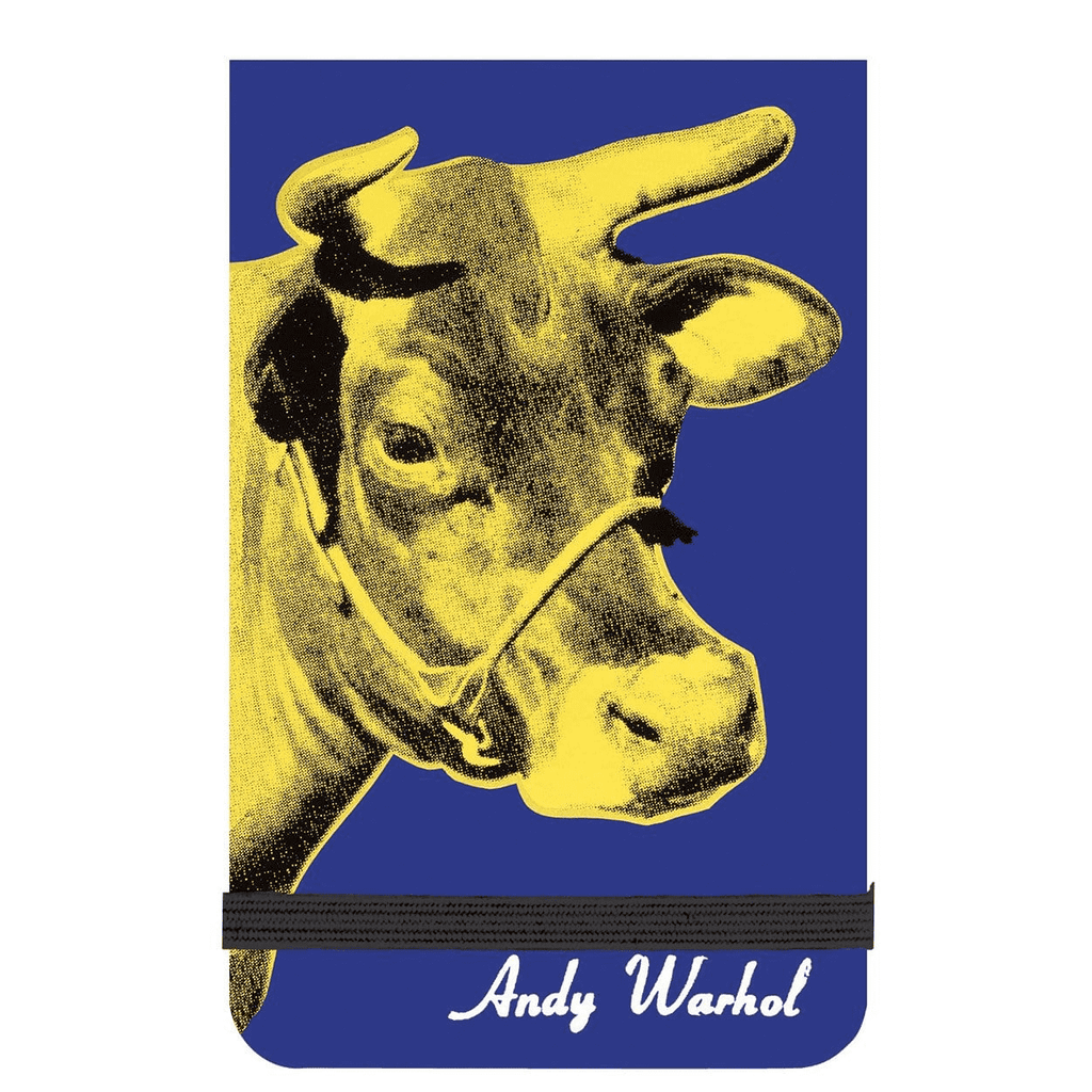 Andy Warhol Cow Mini Journal Journals and Notebooks Galison