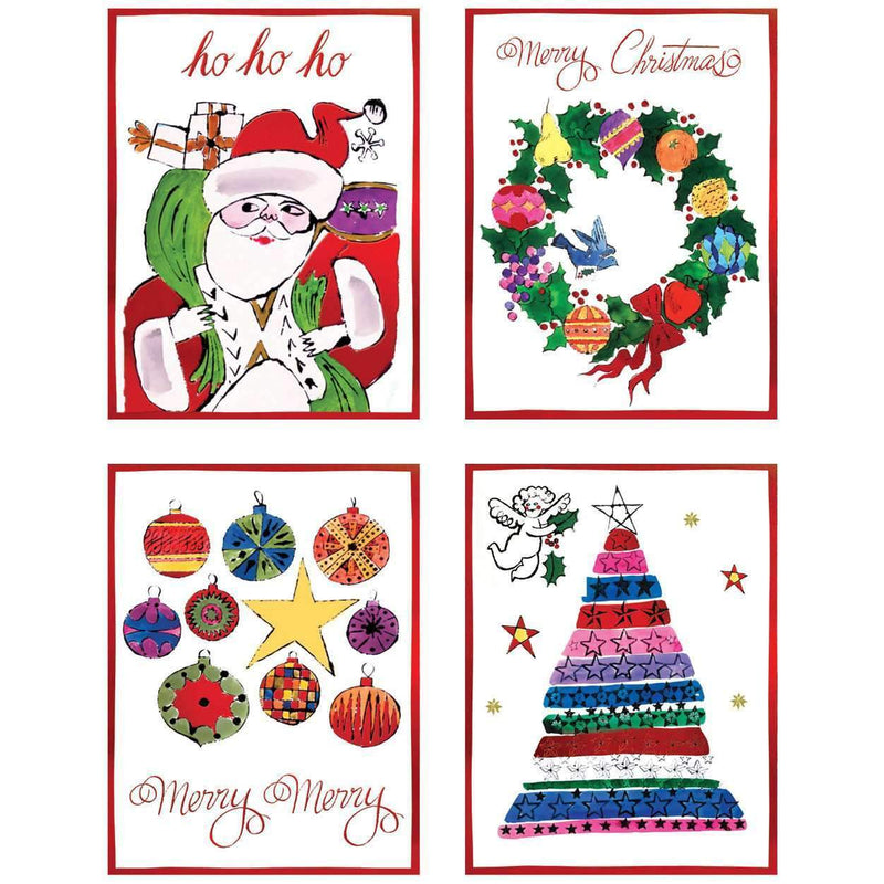 Andy Warhol Deluxe Notecard Collection Holiday Notecards Galison