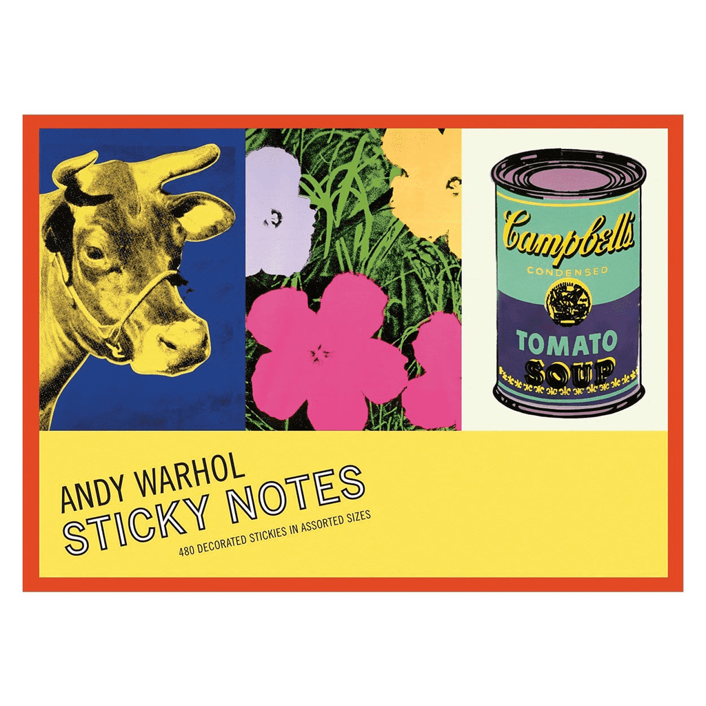 Andy Warhol Greatest Hits Sticky Notes Sticky Notes Galison