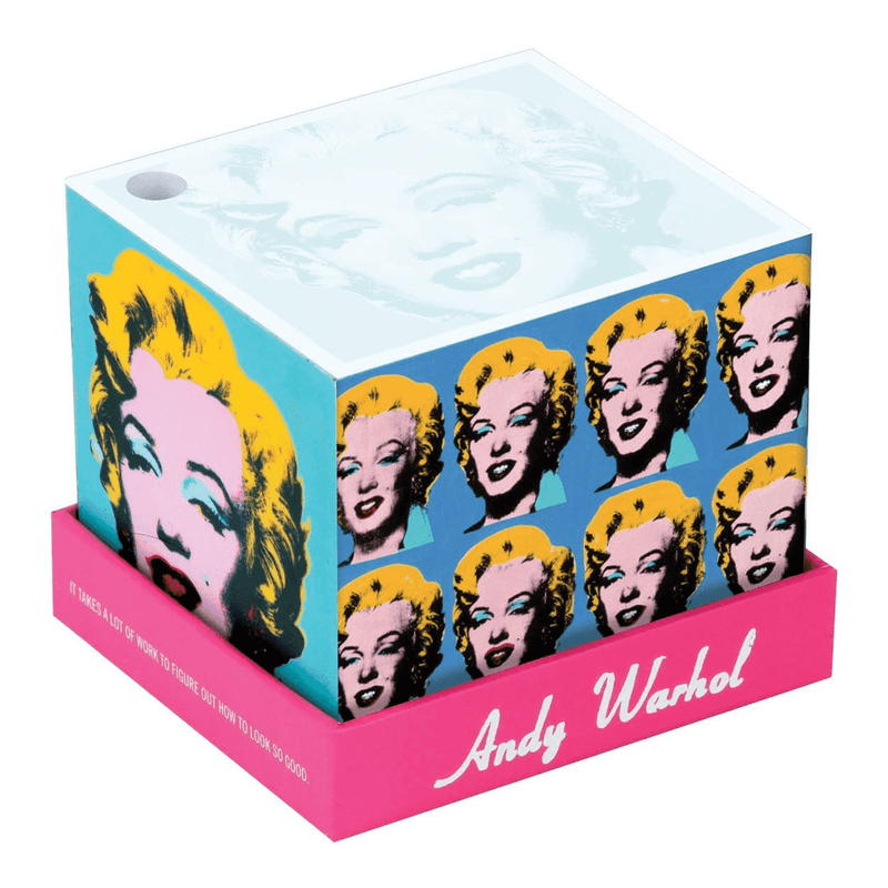 Andy Warhol Marilyn Memo Block Sale Galison