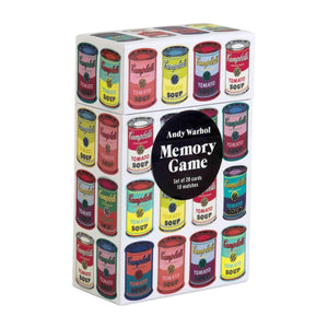 Andy Warhol Memory Game Memory Games Galison