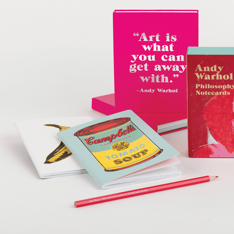 Andy Warhol Mini Notebook Set Journals and Notebooks Galison
