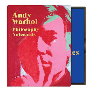 Andy Warhol Philosophy Greeting Assortment Notecards Greeting Cards Galison