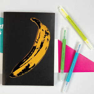 Andy Warhol Philosophy Highlighter Set Pens and Pencils Galison