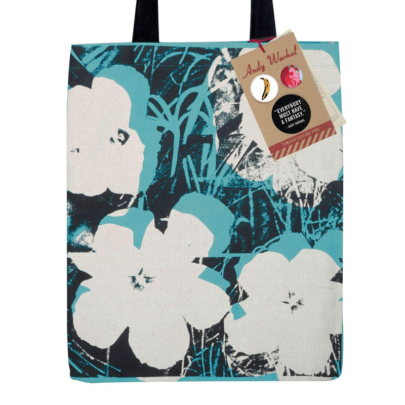Andy Warhol Poppies Tote Bag Tote Bags Galison