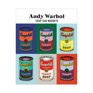 Andy Warhol Soup Can Magnets Magnets Galison