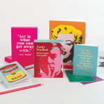 Andy Warhol Sticky Notes Hardcover Book Sticky Notes Galison