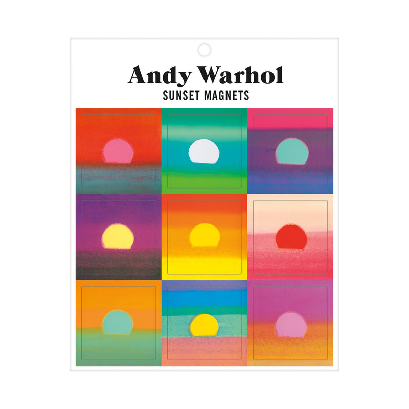 Andy Warhol Sunset Magnets Magnets Galison