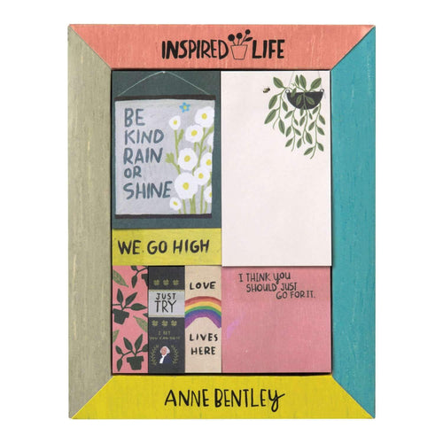 Anne Bentley Inspired Life Desktop Sticky Notes Box Sticky Notes Galison