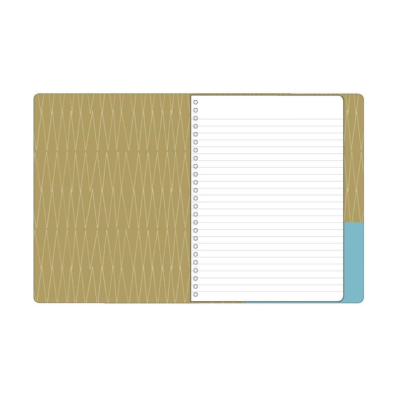 Arrows & Feathers Deluxe Spiral Notebook Journals and Notebooks Galison
