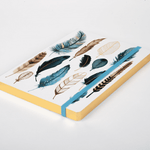 Arrows & Feathers Gilded Journal Journals and Notebooks Galison