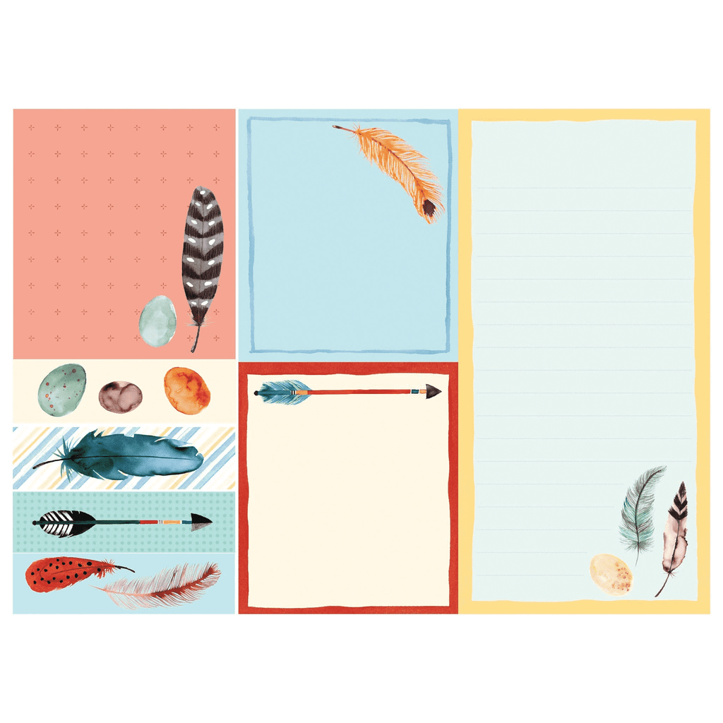 Arrows & Feathers Sticky Notes Sticky Notes Galison
