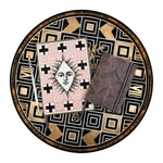 Atout Coeur Round Lacquer Tray Christian Lacroix Home and Gifts Christian Lacroix