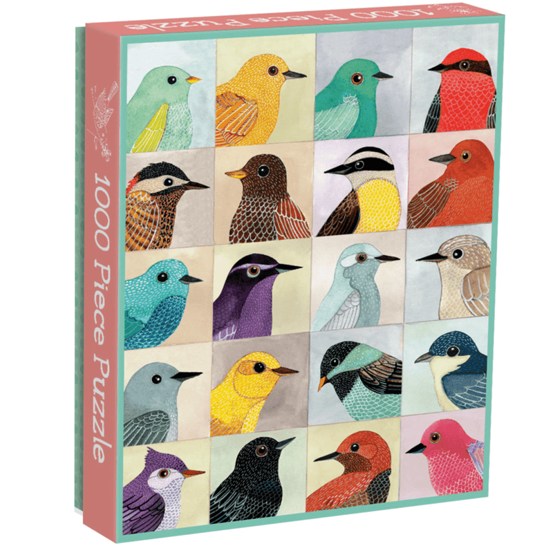 Avian Friends 1000 Piece Puzzle 1000 Piece Puzzles Galison