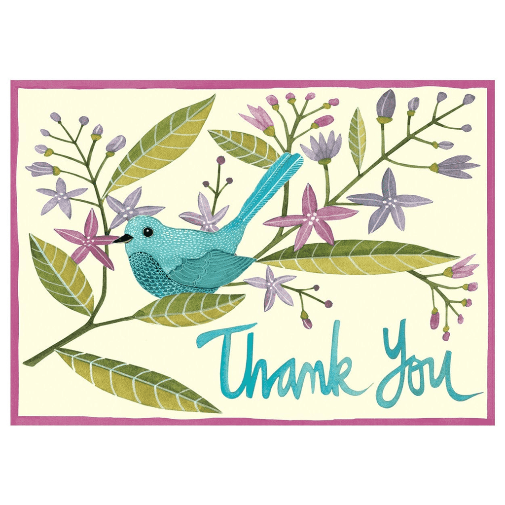 Avian Friends Thank You Notes Thank You Cards Galison