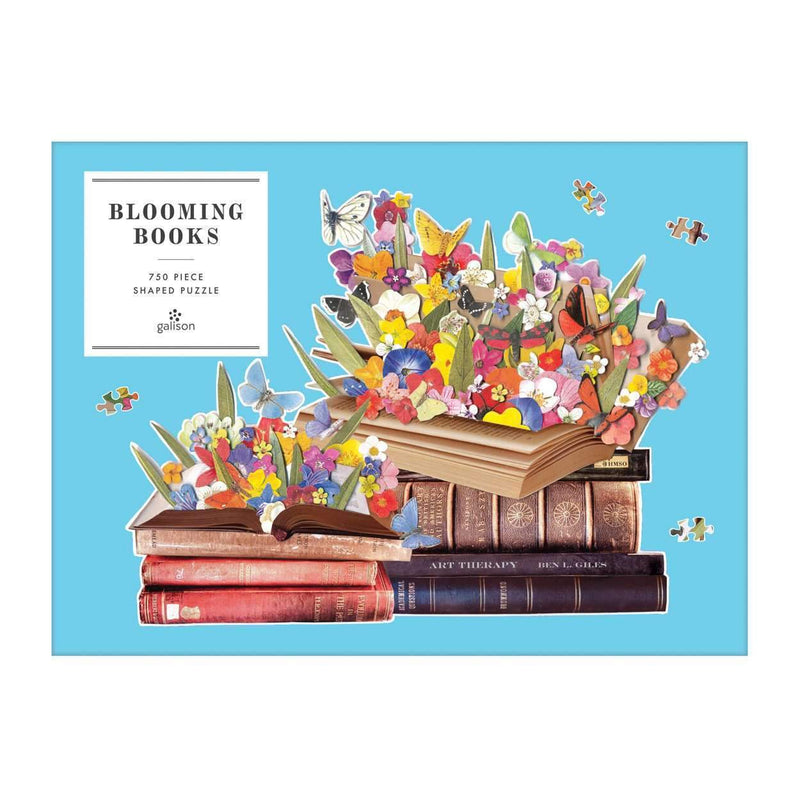 Ben Giles Blooming Books 750 Piece Shaped Puzzle 750 Piece Puzzles Galison