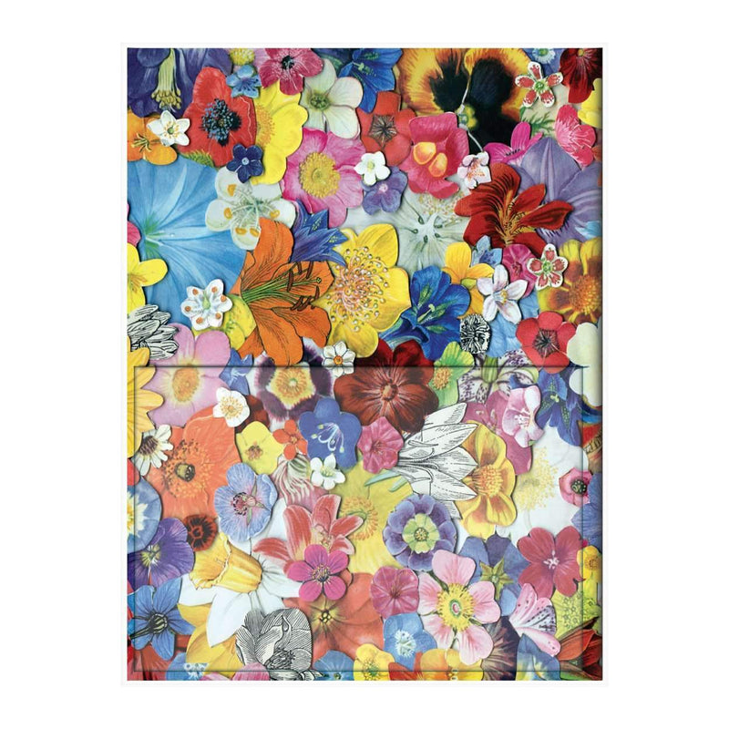 Ben Giles Flowers PVC Multi-pocket Cover Journal Journals and Notebooks Galison