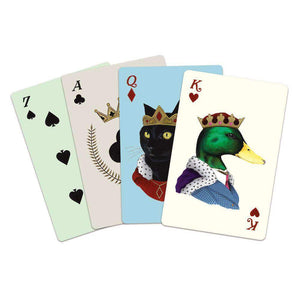 Berkley Bestiary Animal Portraits Playing Cards Playing Cards Galison