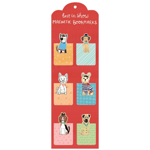 Best in Show Magnetic Bookmarks Bookmarks Galison