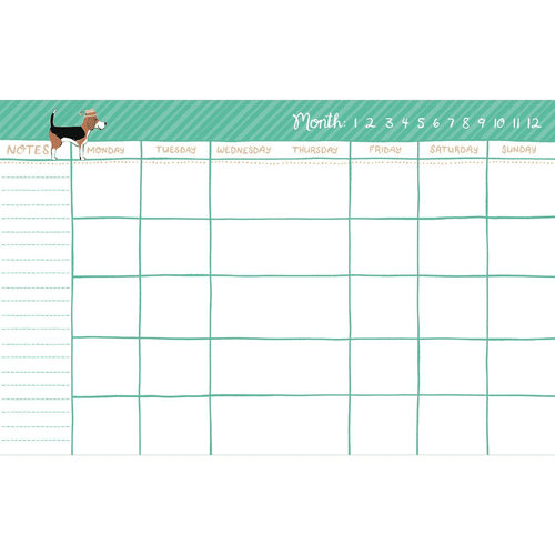 Best in Show Pocket Undated Planner Planners Galison