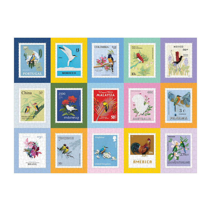 Birds of the World 1000 Piece Jigsaw Puzzle 1000 Piece Puzzles Diana Beltran Herrera Collection