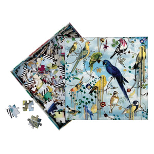 Birds Sinfonia Double-Sided 250 Piece Puzzle Christian Lacroix Puzzles and Games Christian Lacroix
